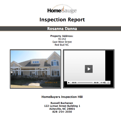Reports & Rates | Altamont Inspections, LLC